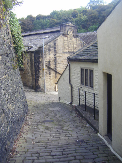 Setts, Mill Building and Shears Inn