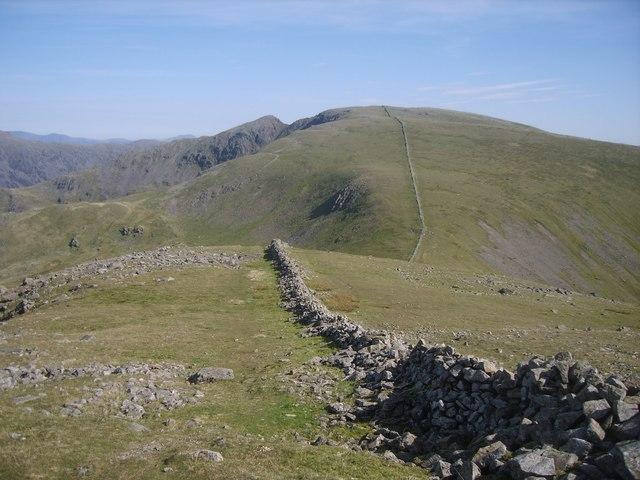 Old Wall On Haycock
