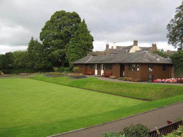 Bowling green pavilion, Hexham