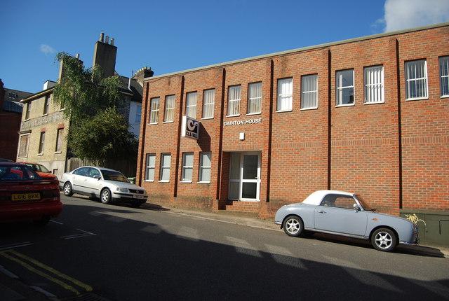 Dainton House, Goods Station Rd