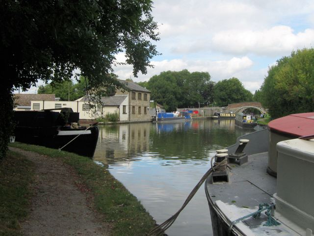 A general view of the Junction on the Grand Union Canal at Marsworth