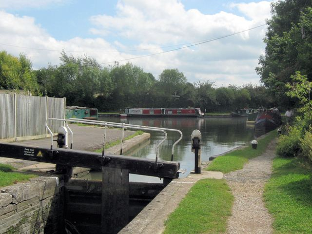 A View of the Canal Junction from Lock No 1 on the Aylesbury Arm
