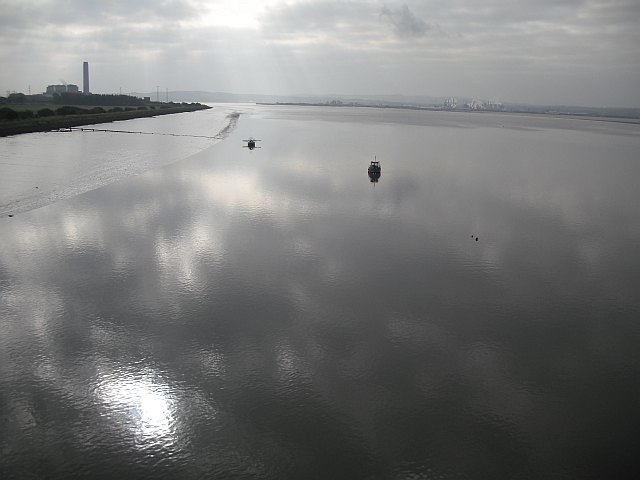 The Forth from the Kincardine Bridge