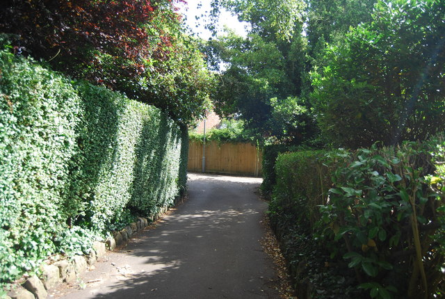 Cut through from Woodbury Park Gardens to Upper Grosvenor Rd