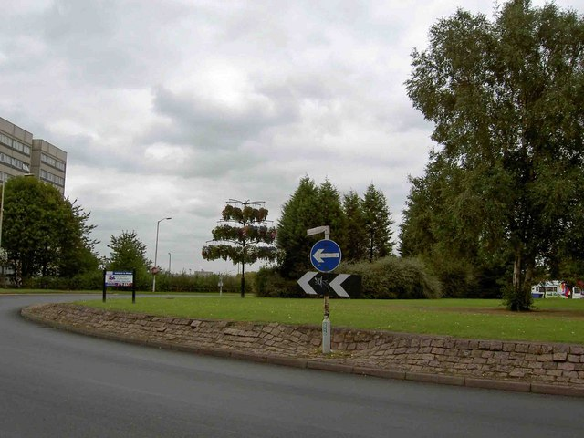 Chelmsley Wood roundabout