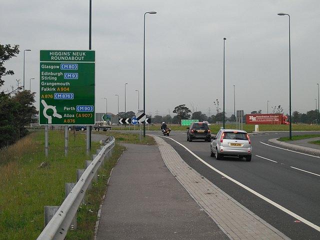 Higgins' Neuk Roundabout