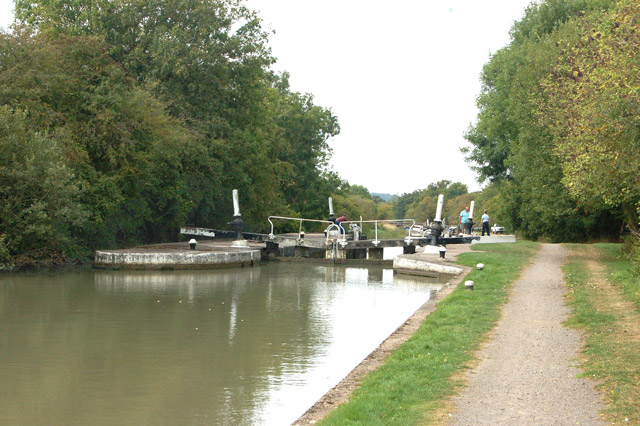 Grand Union Canal Bascote middle lock