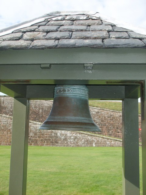 Ships bell of HMS 'Excalibur'