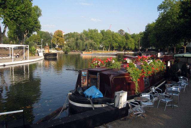 Narrowboat Café at Little Venice