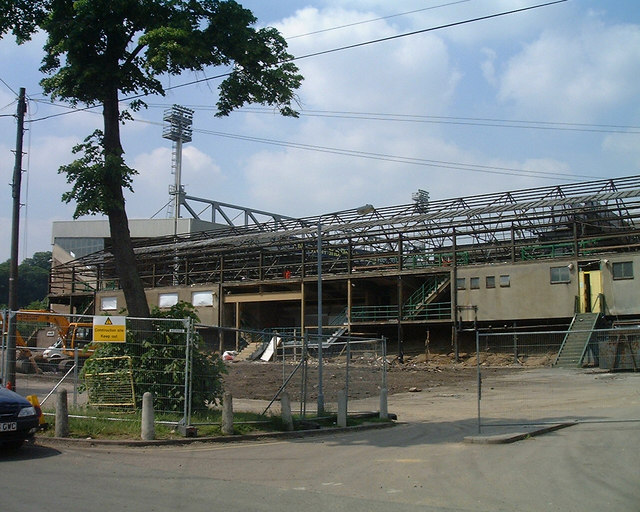 South Stand, Carrow Road, Norwich City Football Club