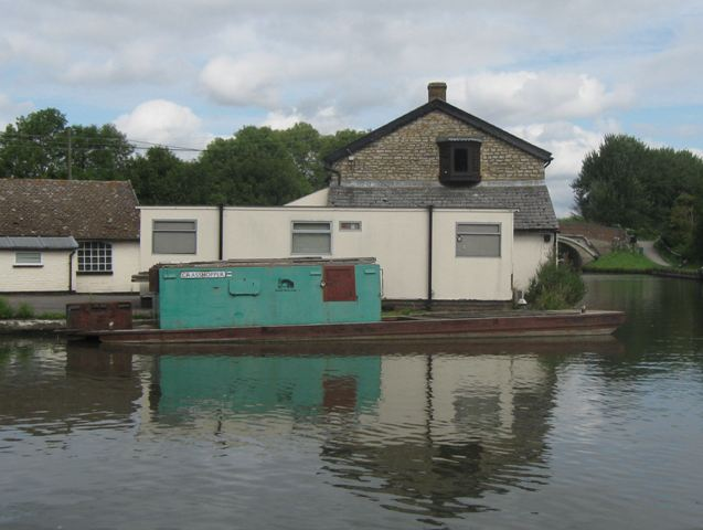 """""""Grasshopper"""" besides the  Waterway Office at Marsworth"""