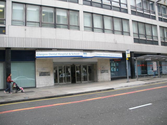 Glasgow Dental Hospital Sauchiehall Street