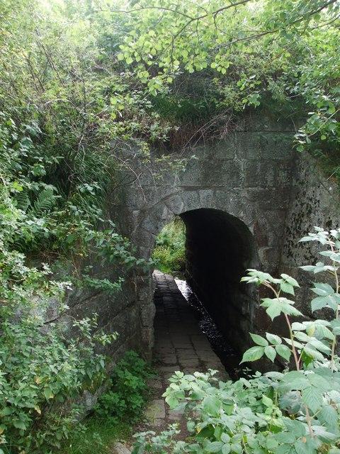 Pedestrian tunnel under Strathspey Railway