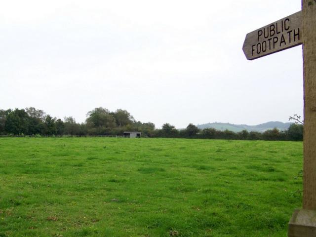 Footpath near Alhampton