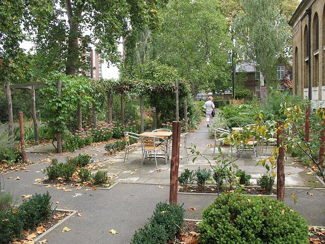 "St Peter's Walworth: the ""Monkey Garden"""