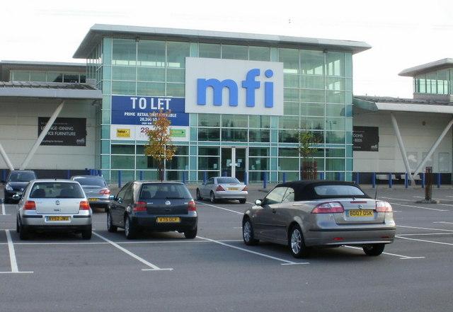 Former MFI, 28East Retail Park