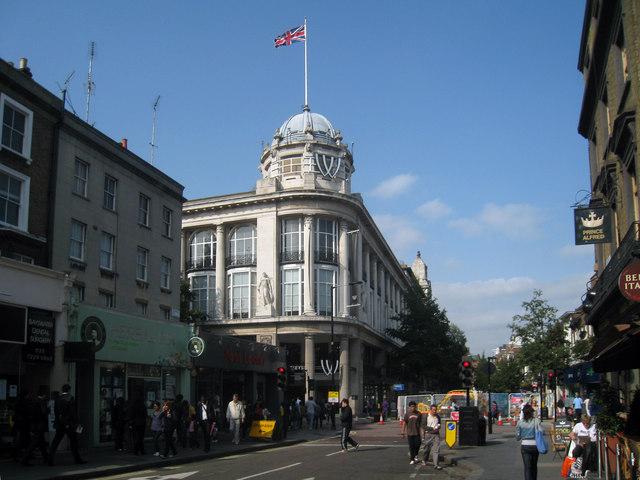 Whiteley's Store, Queensway, London