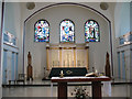 TQ3278 : St Peter's Walworth: chancel by Stephen Craven
