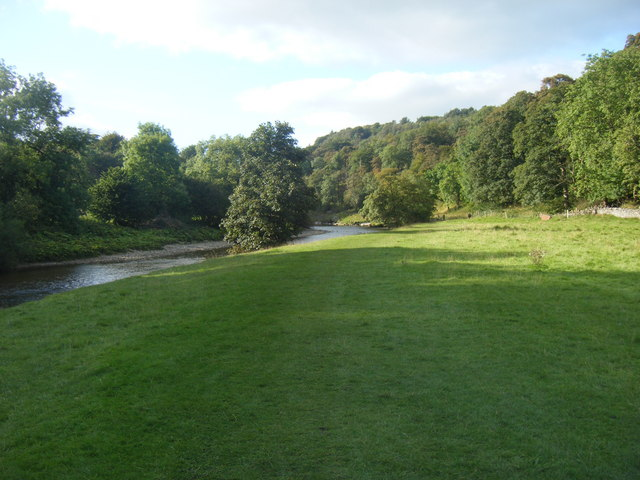 Wide Grassy Bank, River Wharfe