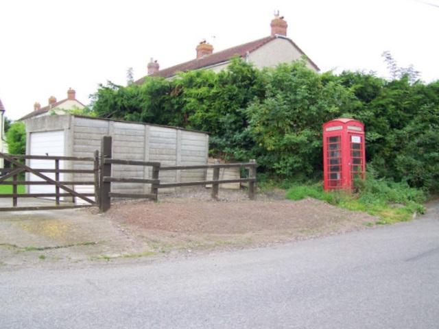 Telephone box, Alhampton