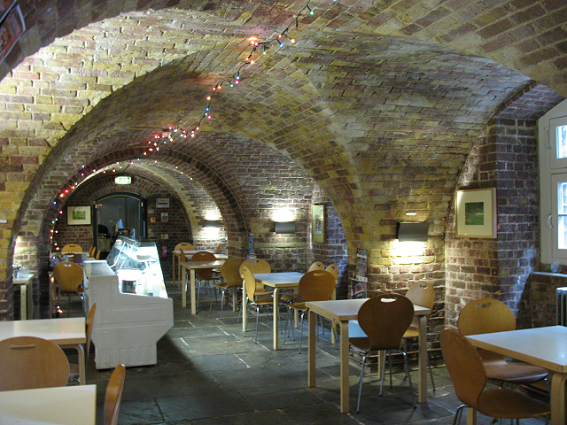 St Peter's Walworth: crypt cafe