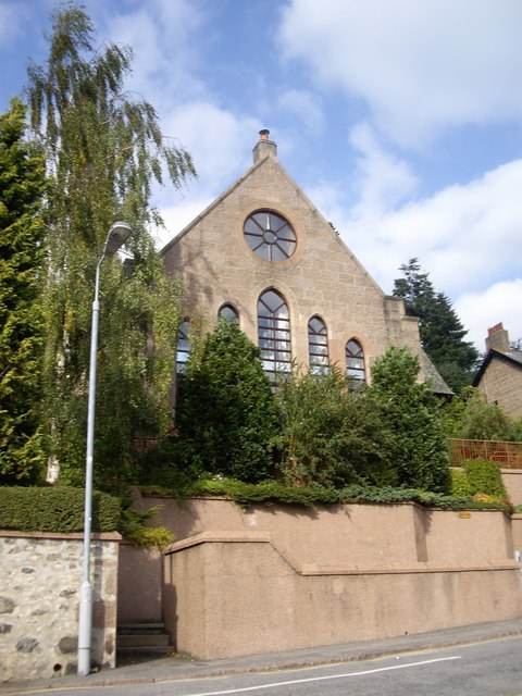 Converted church in Banchory