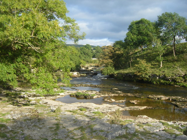 River Wharfe After The Strid