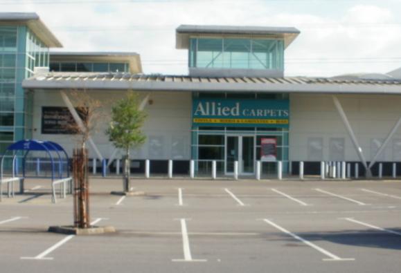 Former Allied Carpets premises, 28East Retail Park, Newport