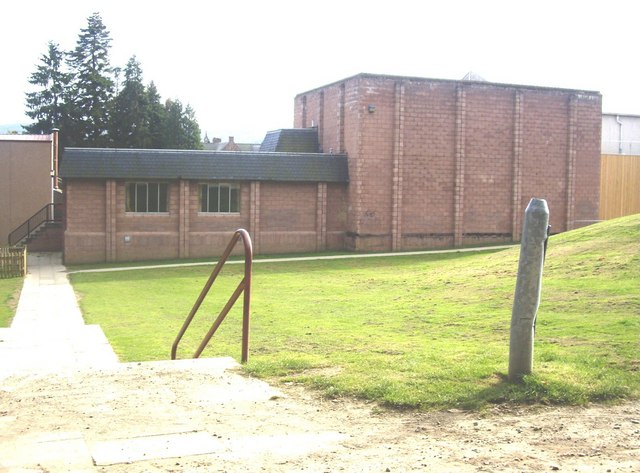 Banchory Academy gymnasium