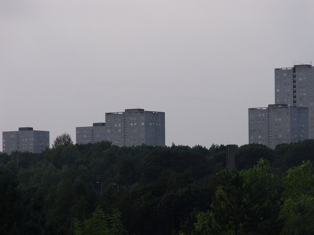 Cumbernauld Skyline