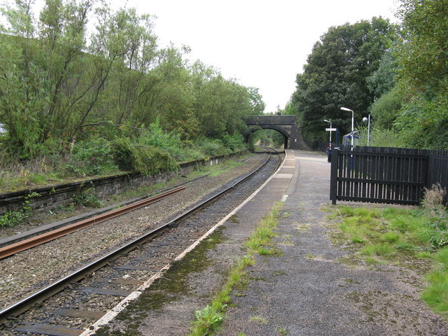 New Hey station, Lancashire