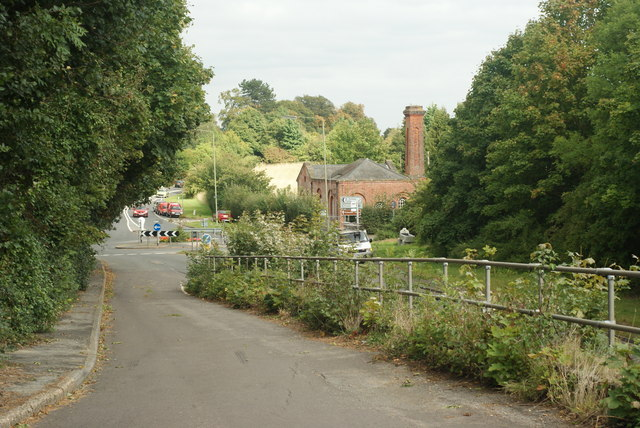 "The ""old"" A246 at West Horsley, Surrey"