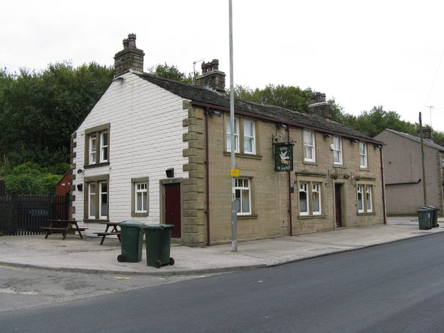 The 'Bird in Hand', Huddersfield Road, Newhey