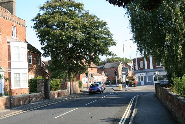 Northern end of Salisbury Street