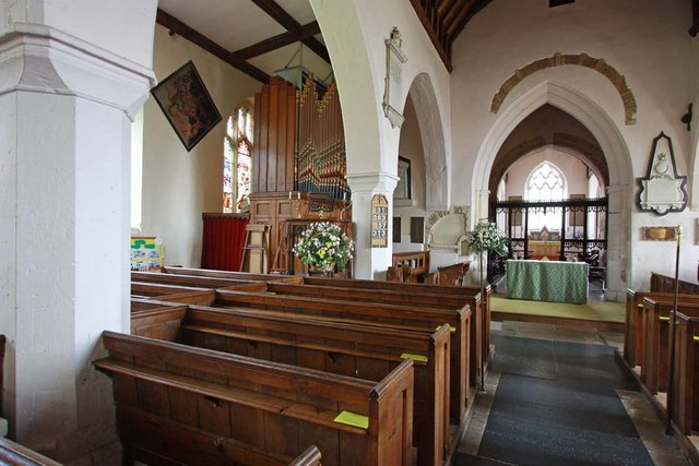 St Andrew, Boreham, Essex - North arcade