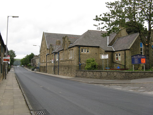 St. Thomas's C of E Primary School, Huddersfield Road, Newhey