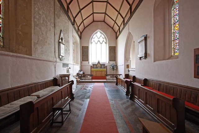 St Andrew, Boreham, Essex - Chancel