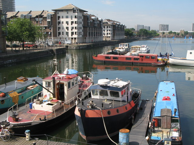 Boats in Greenland Dock