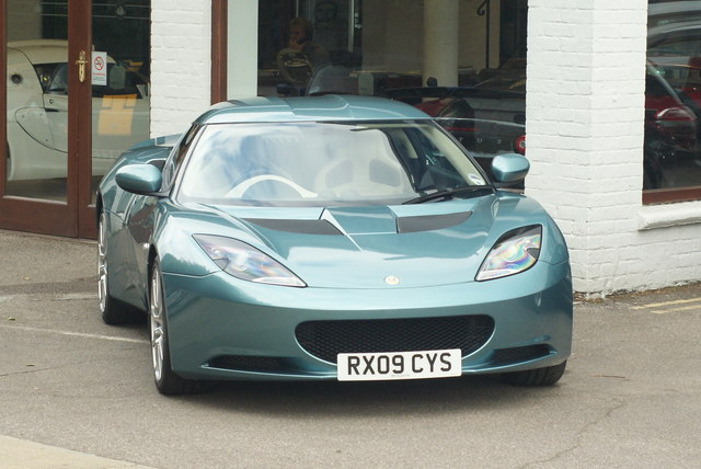 Lotus Evore at Bell & Colvill, West Horsley, Surrey