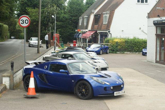 Lotus Cars at Bell & Colvill, West Horsley, Surrey