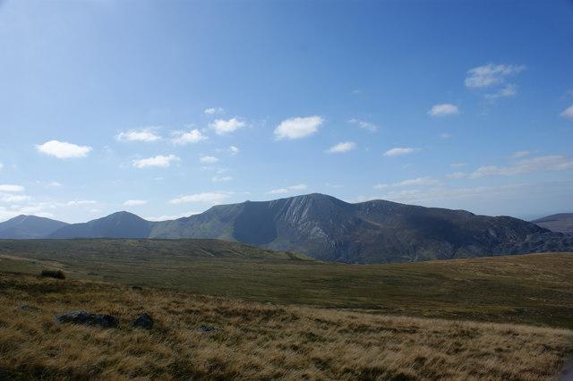 Y Garn, Foel Goch, Mynydd Perfedd, Carnedd y Filiast and Penrhyn Quarry