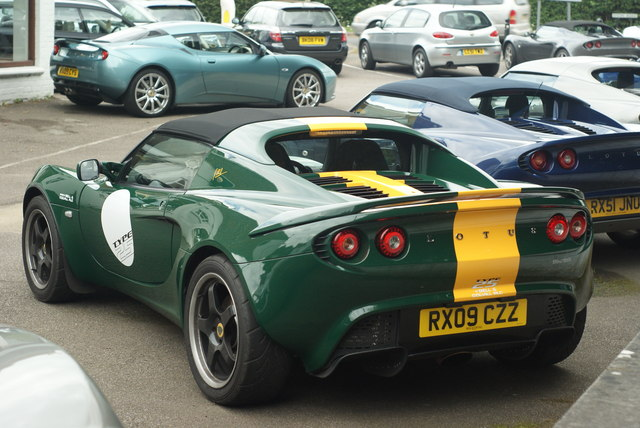Lotus Elise at Bell & Colvill, West Horsley, Surrey