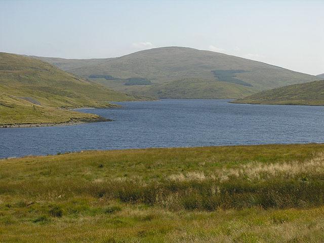 View towards Y Garn