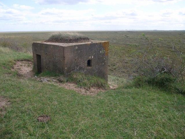 Pillbox overlooking The Scalp