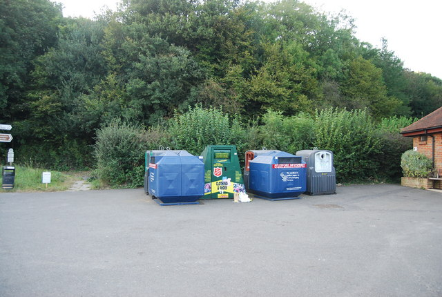 Recycling Centre, Ide Hill Car Park