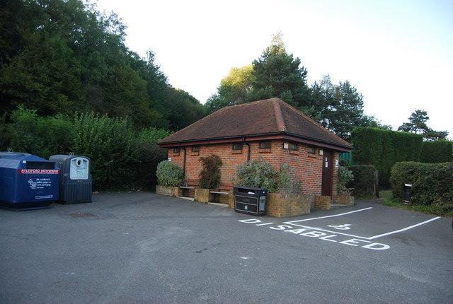 Public Toilets, Ide Hill Car Park