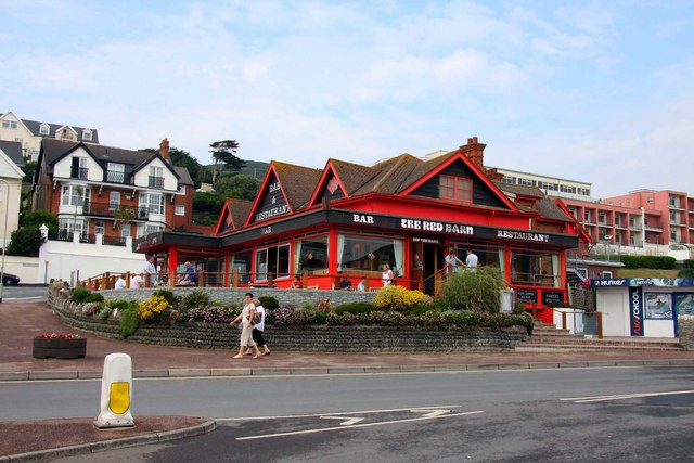 Red Barn restaurant at Woolacombe