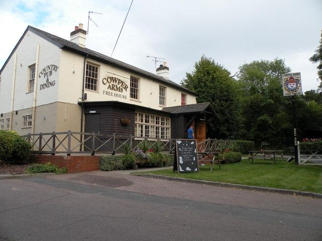 'Cowper Arms' public house