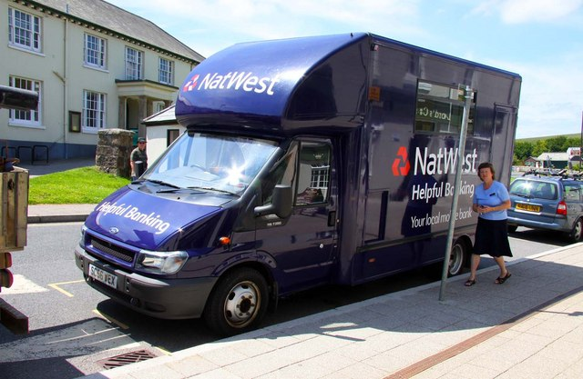 NatWest Mobile Bank in Princetown