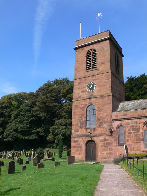 Church tower, Burton-in-Wirral